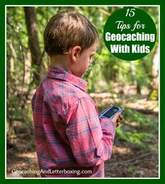 Going #geocaching with kids? Click here to learn 15 tips that will ensure everyone stays safe and has a great time.