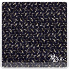 First Ladies - Paisley Floral Black Yardage from Missouri Star Quilt Co