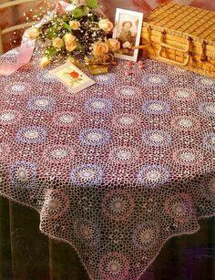 Crochet tablecloth pattern - beautiful