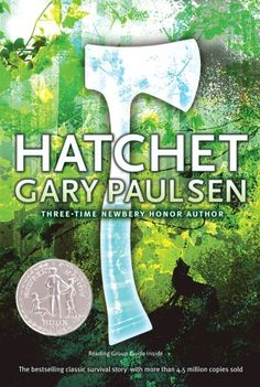 Hatchet by Gary Paulsen: This is a great book of adventure for Brian. He is going through a difficult time in this life, but through some series of events he grows up and learns some valuable life lessons along the way. NEWBERY HONOR - Chapter books, realistic fiction-