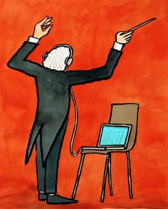 PLAYLIST How I feel when I put together a really good playlist. Jean Jullien 2015 / 09 / 16