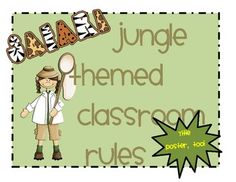 Do you have a safari themed or jungle themed Classroom