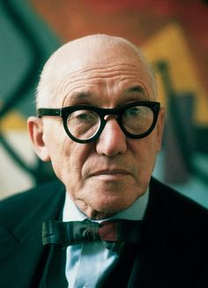 [FA] : A portrait of the noted Swiss architect, urbanist and interior designer Charles-Edouard Jeanneret, better-known under his nom de plume of Le Corbusier. Le Corbusier, Modern Architects, Famous Architects, Paris Home, What's Your Style, International Style, Built Environment, Actors, Notre Dame