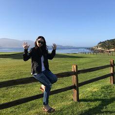 . 아침 바닷바람이 엄청 시원했던 페블비치 . #LA #losangeles #california #CA #USA #pebblebeach #golf #tour #여행 #휴가 #바다 #골프 #필드 #montereylocals #pebblebeachlocals - posted by 최꼬막 https://www.instagram.com/c.eunji - See more of Pebble Beach at http://pebblebeachlocals.com/