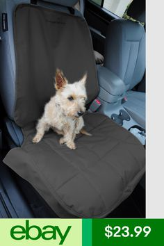 GELOO Pet Front Car Seat Cover Dog For Cars Trucks And SUV Waterproof Scratch Proof Non Slip With