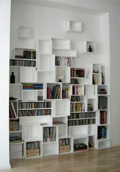 cubit: ideaal voor boekenkast op maat