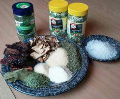 Rezept Gemüsebrühpulver - Brühe ohne Geschmacksverstärker - Suppengewürz von xxAndreaxx - Rezept der Kategorie Grundrezepte