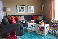 The Ellen Dream House Family Room - Possible kid friendly living room