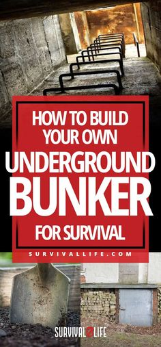 Underground Bunker | How To Build Your Own Underground Bunker For Survival
