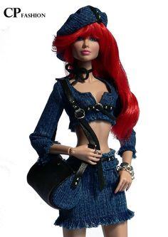Fashion Dolls, Fashion Royalty Dolls, Doll Clothes Barbie, Vintage Barbie Dolls, Manequin, Victorian Gown, Barbie Mode, Beautiful Barbie Dolls, Barbie Patterns