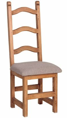 Country Pine Old World Dining Chairs