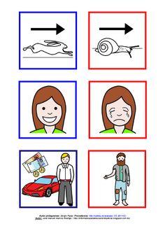 Registro y valoración cualitativa - Antónimos. Lámina 16 http://informaticaparaeducacionespecial.blogspot.com.es/2014/09/registro-y-material-complementario-para.html