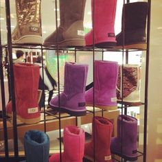 I LOVE Uggs! I want a pair of every color of every type and style. #Shoes #Boots #Uggs