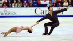Canada Patinage artistique Prog. libre (Couples)