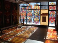 168 - Deck of Kings Exhibition by Joshua Davis, via Behance