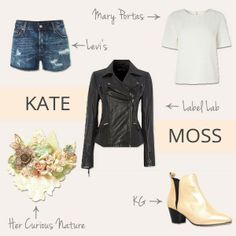 Heading to the festivals this summer?  Check out Kate Moss' style for some wardrobe inspiration!