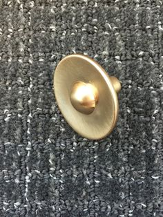 Modern Brushed Satin Gold Knob DIY Funrniture Chic Projects Knobs Pulls knobs/ Handles/ Brass Cabinet Pull Handles/Door handle/drawer pull