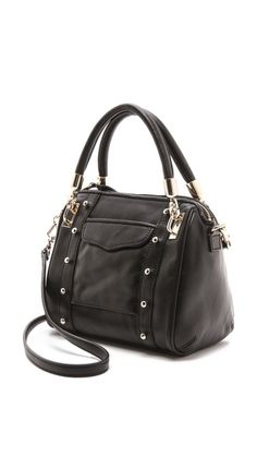 Yep. This is gonna happen. I just wish it had rose gold hardware.  Rebecca Minkoff Cupid Mini Satchel