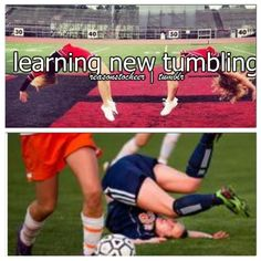 That girl in the bottom was was totally me last year lol . Luckily it was worth it & we ended up making a point lol