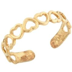 10k Solid Yellow Gold Open Hearts Toe Ring Jewelry Liquidation. $69.31. Made with Solid 10k Gold!. Made in USA!. Save 45%!