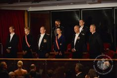 11/20/2013 Monaco Royal Family attended the Monaco National day Gala concert as part of Monaco National Day Celebrations at Grimaldi Forum