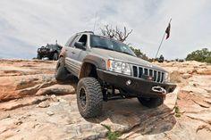 Jeep Grand Cherokee WJ Lift Kit Install