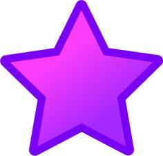 100 best clip art stars images on pinterest star clipart clip art rh pinterest com Red Star Clip Art Light Purple Stars Clip Art