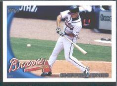 2010 Topps Baseball Card # 652 Chipper Jones - Atlanta Braves - MLB Trading Card by Topps. $1.87. 2010 Topps Baseball Card # 652 Chipper Jones - Atlanta Braves - MLB Trading Card