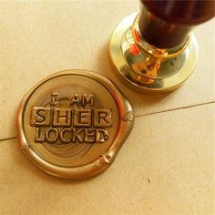 Sherlock Holmes - I Am Sherlocked Wax Seal Stamp – One Geek Material: Metal Use: Personalized Motto Brand Name: XunMade Model Number: wax stamp Type: Standard Stamp