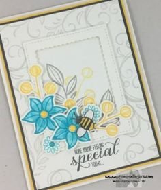 Stampin' Up! Falling May Flowers Garden in Bloom| Stamps – n - Lingers