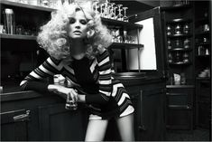 LOVE this shoot for Vogue Russia featuring polish model Magdalena Frackowiak. The AHmazing hair is by James Rowe and it was shot by Claudia Knoepful and Stefan Indlekofers. Beautifully styled by Veronique Didry – big hair is definitely back for spring. So some big things have been happening around Hair Romance this week too. I...Read More »