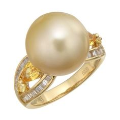 Pearl Ring, Kawaii Fashion, Engagement Rings, Pearls, Jewelry, Enagement Rings, Wedding Rings, Jewlery, Jewerly