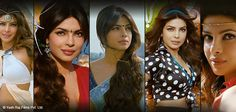Priyanka Chopra tantalized each and every outfit she wore. Being a Bengali in plain saree with back flaunting blouses or a Cabaret dancer with shimmery dresses and make up she has perfected each and every look. Even brought head gear trend to lime light when she dawned it beautifully in the movie GundayTheFilm #YRFTrendSetter