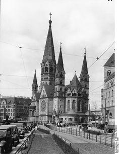 Kaiser-Wilhelm-Gedächtniskirche, 1939