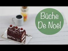 how to: Bûche de Noël polymer clay tutorial