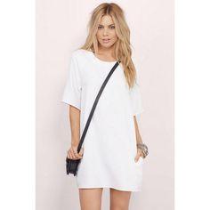 white t shirt dress - Google Search