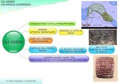 Assiri, popolo guerrieo - mappa di Fabio Veronese