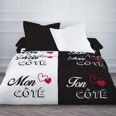 Couette 220x240cm Mon côté Comforters, Bed Pillows, Pillow Cases, Home, Chic, Vestidos, Bedding, Linens, Romantic