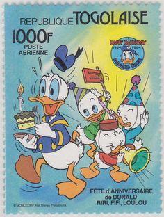 Fiesta de Aniversario, Donald, Hugo, Paco y Luis Fiesta de Aniversario 21/09/1984 Togo