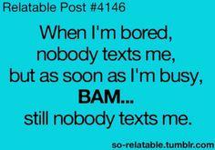 I get that same feeling