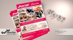 Curso Sobrancelha e Depilação - Flyer criado para Nossa Loja de Guaíra