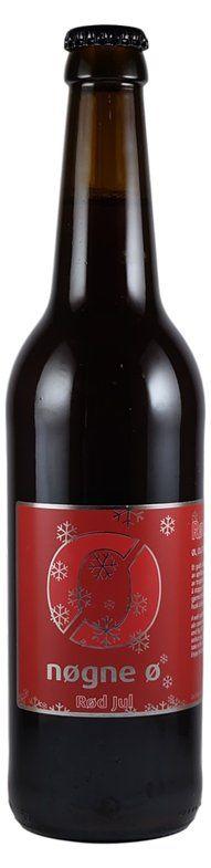 Nogne O - Röd Jul (Dried Fruit fig etcetera)  8,0% pullo