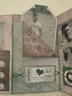 Mini album masculin Créativa de Rouen - miss en scrap