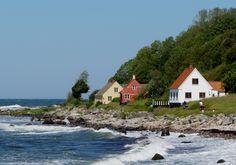 Bornholm coastline