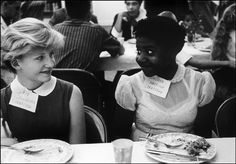 © Eve Arnold, 1958, Children at a party to introduce mixed schools, Virginia Very sad news to hear that the extraordinary photographer Eve A...