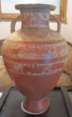 Anfora etrusco corinzia Reperti archeologici Etruschi e di età pre Romana