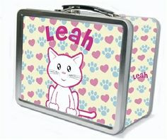 My Sweet Dreams Baby - Personalized Kid's Tin Lunch Boxes, $29.95 (http://www.mysweetdreamsbaby.com/frecklelunchbox.htm)