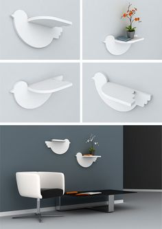 Creative and Unusual Shelves System by Marisko Studio – DesignSwan.com