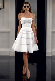 It could have a better shape at the waist but I just adore the skirt on this dress.