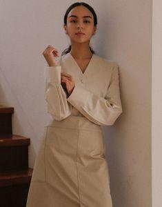 APRONS - a.mont Uniform Clothes, Aprons, Shirt Dress, Shirts, Dresses, Women, Fashion, Vestidos, Moda